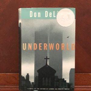 Hardcover novel: Underworld by Don DeLillo